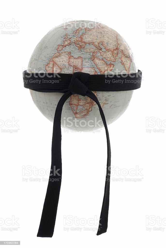 Organización mundial de artes marciales foto de stock libre de derechos