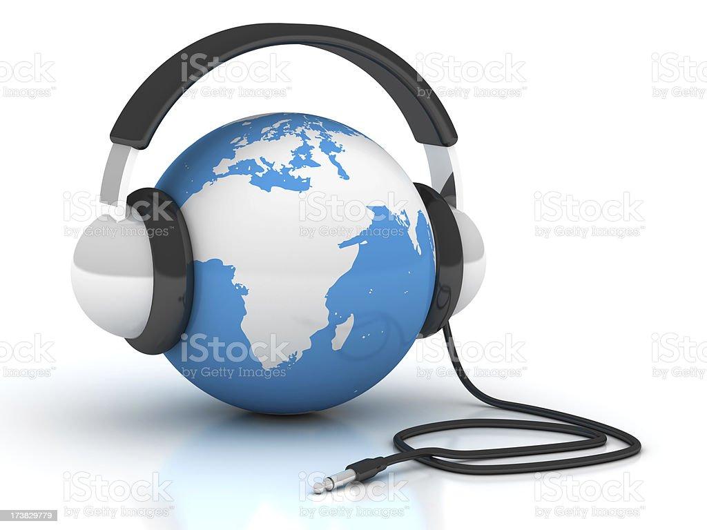 World music royalty-free stock photo
