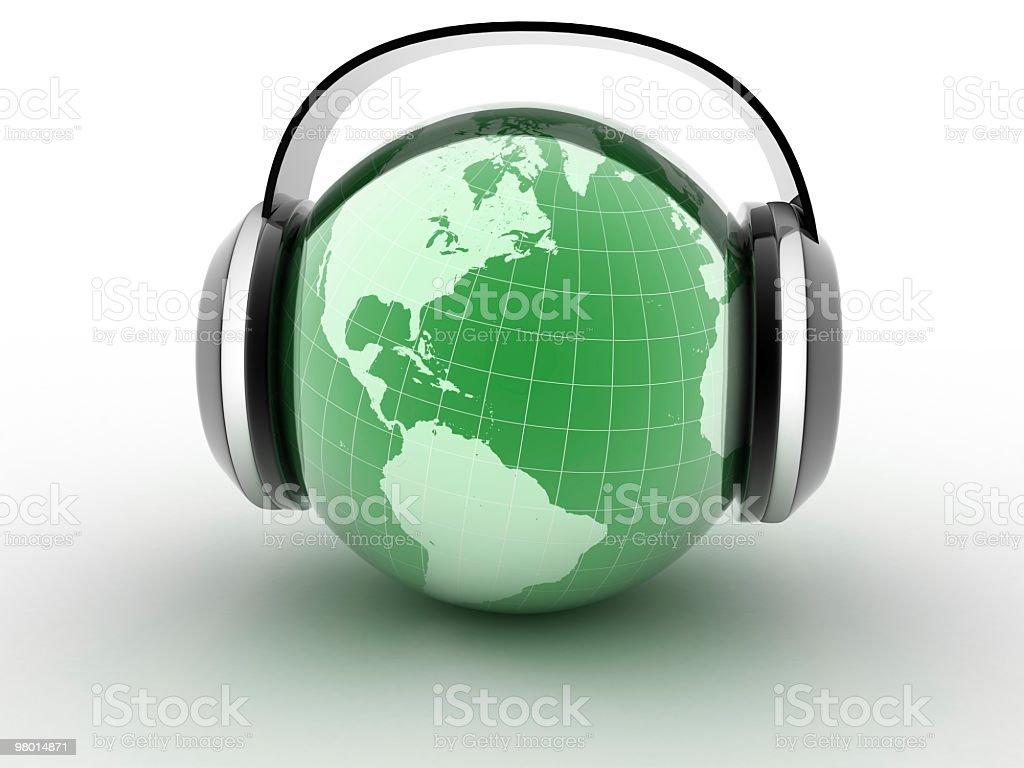 세계 음악 royalty-free 스톡 사진