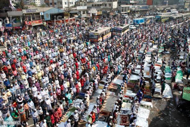 World Muslim's Congregation In Bangladesh