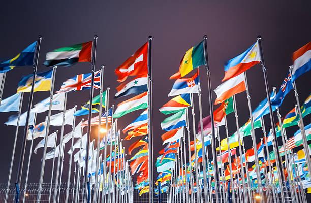 Welt-Flaggen – Foto