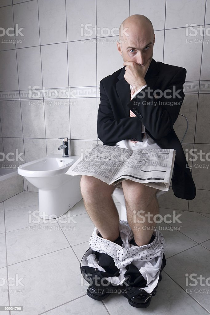 World News In Private royalty-free stock photo