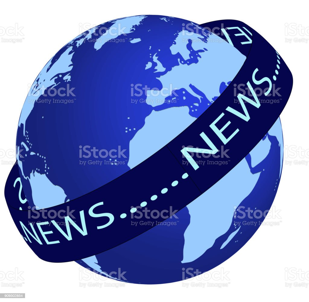 World News stock photo