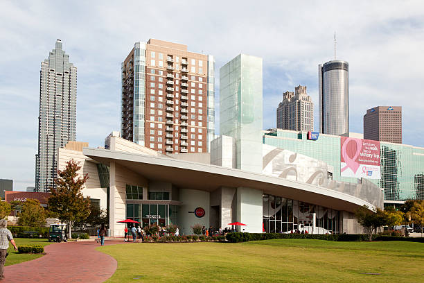 World of Coca-Cola in Atlanta, Georgia stock photo
