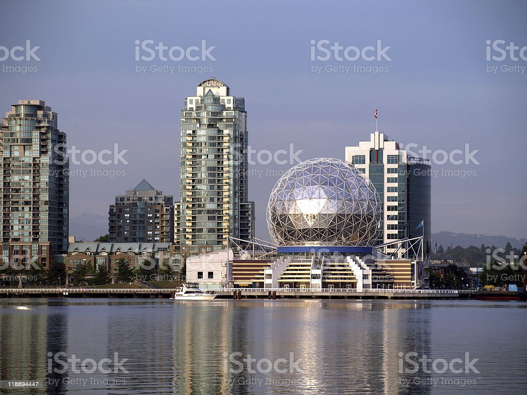 World of science in Vancouver, Canada stock photo