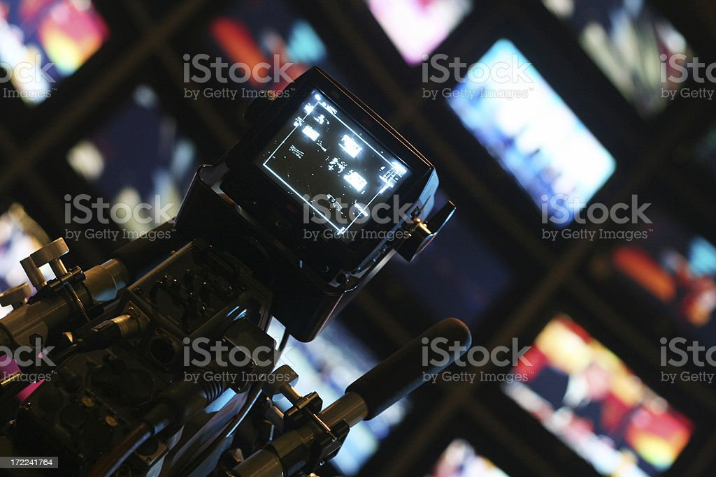world of TV royalty-free stock photo