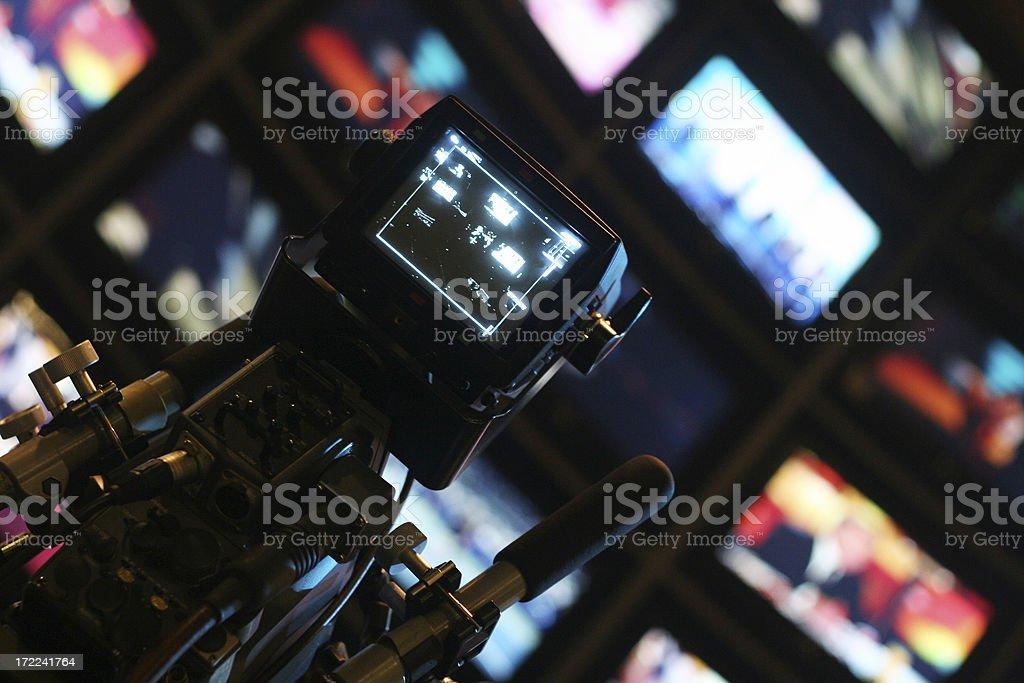 world of TV stock photo