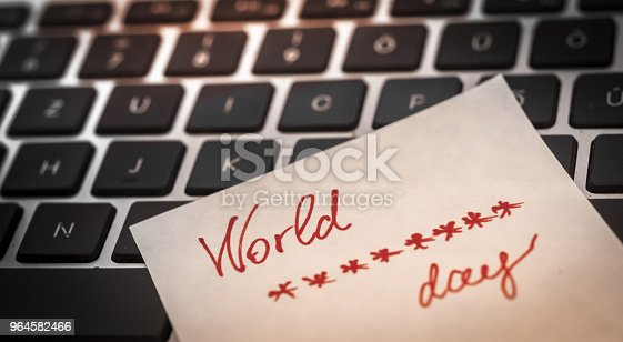 istock World password day, 964582466