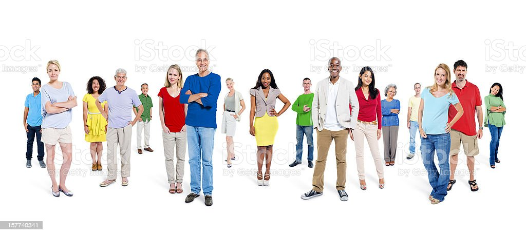 World People royalty-free stock photo