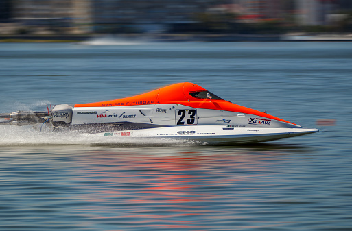 World Powerboat Championship Robert Hencz On August 26 2016 Stock Photo - Download Image Now