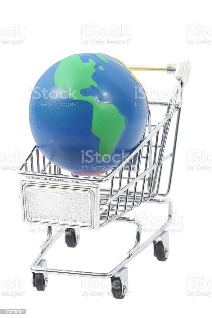 World shopping royalty-free stock photo