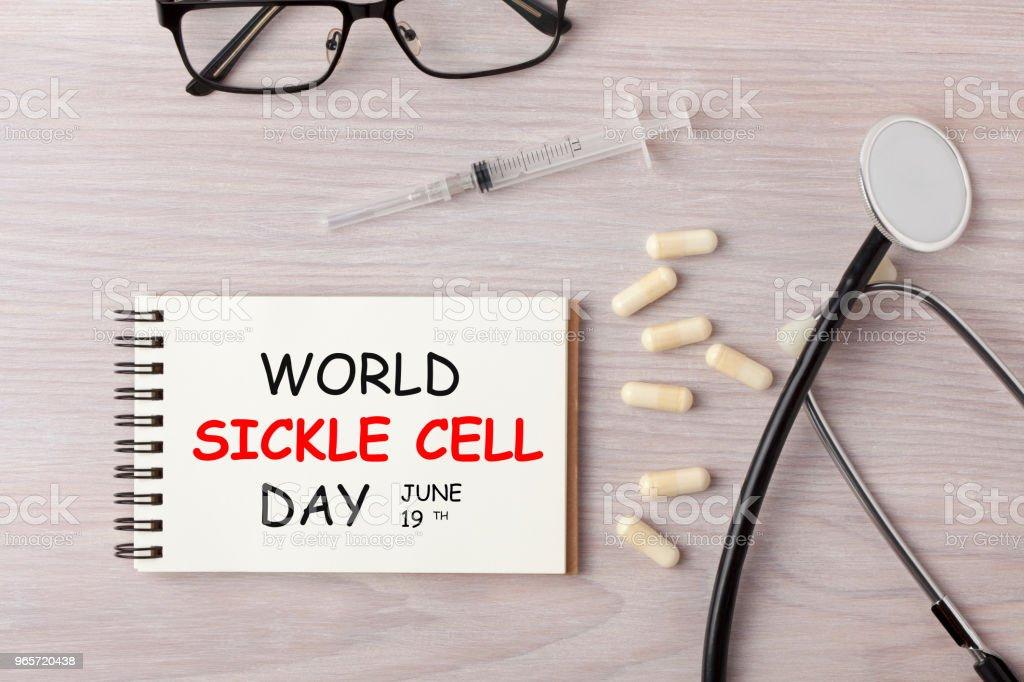 Dia Mundial da anemia falciforme - foto de acervo