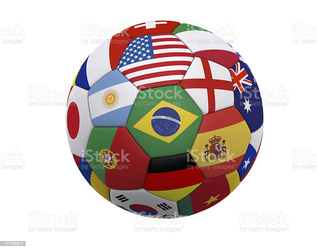 World Soccer / Football stock photo