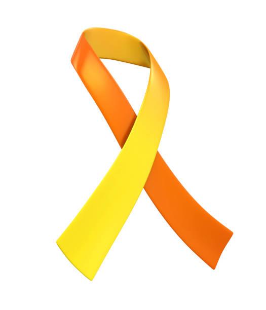 fita do dia da prevenção do suicídio do mundo isolada - setembro amarelo - fotografias e filmes do acervo