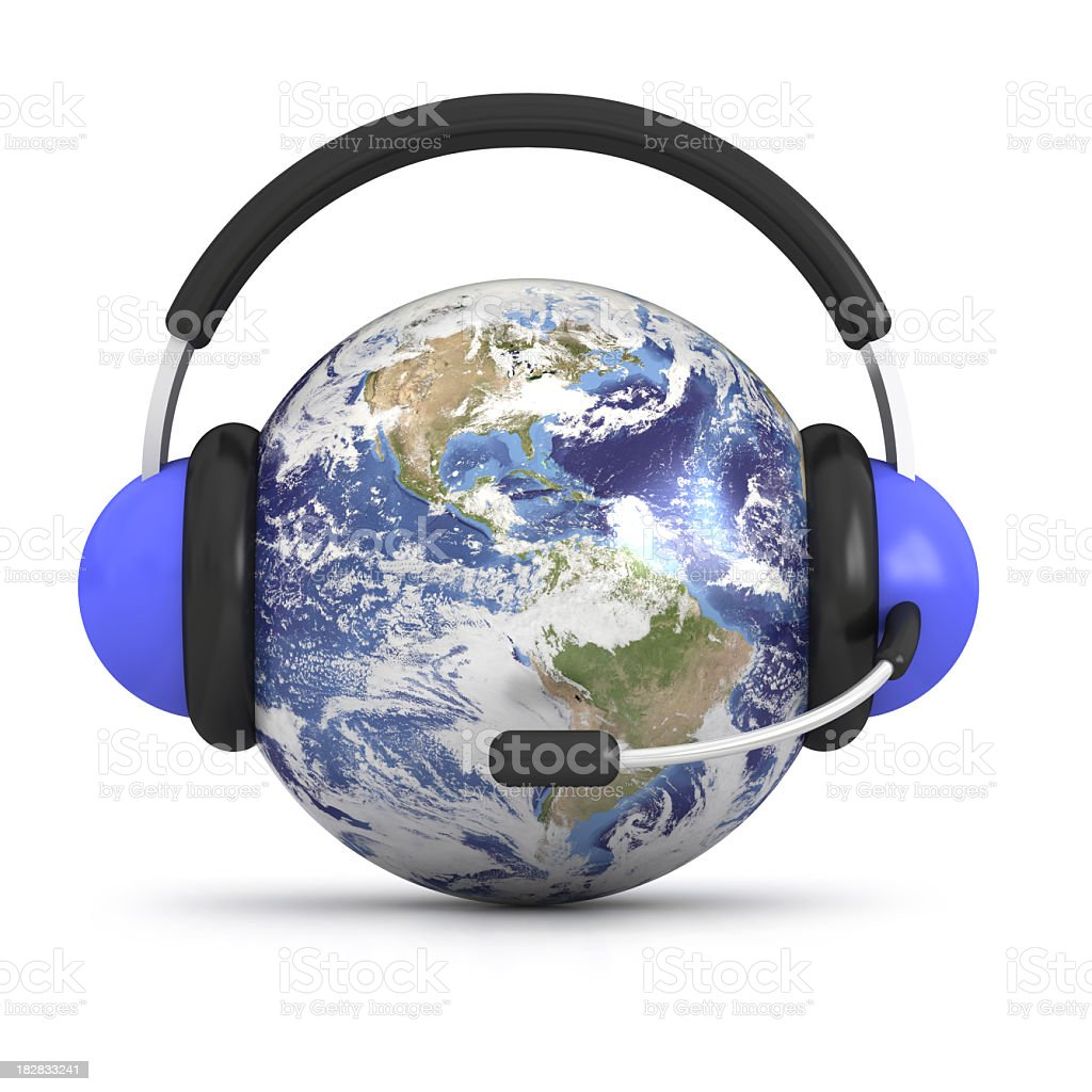 World support royalty-free stock photo