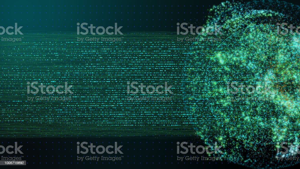 world technology background concept with digital data line with globe...