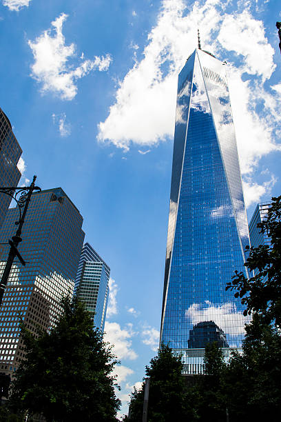 World Trade Center 4 stock photo