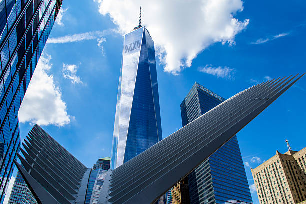 World Trade Center 5 stock photo