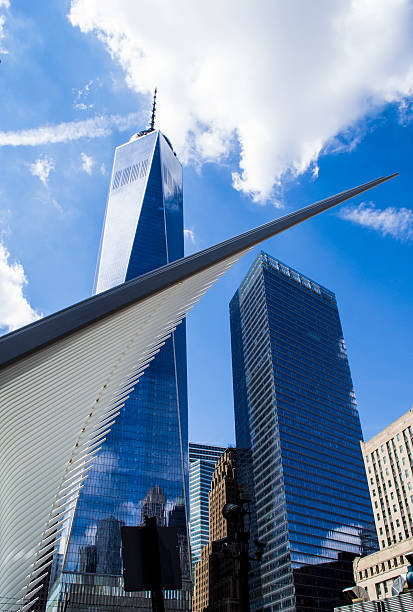 World Trade Center 6 stock photo