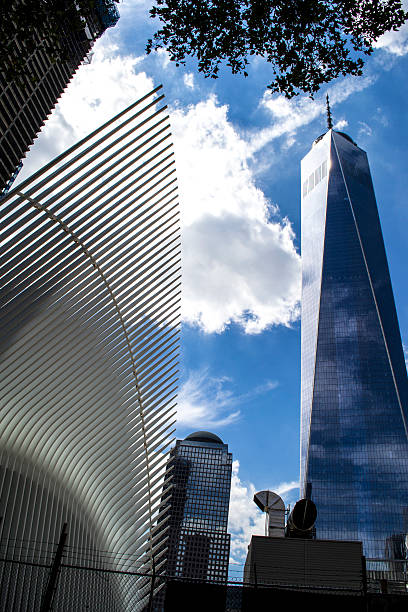 World Trade Center 7 stock photo