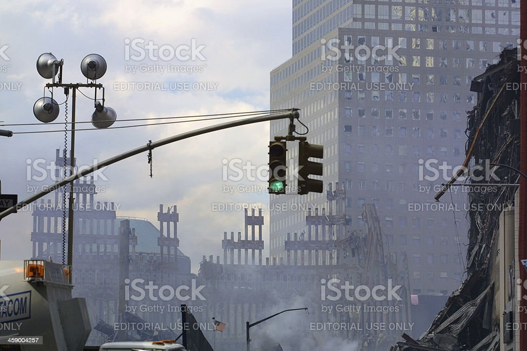 World Trade Center - 911 stock photo