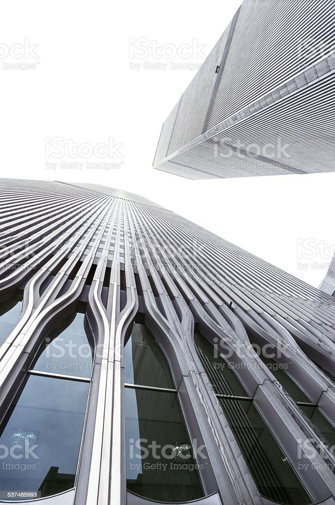 World Trade Center in Manhattan stock photo