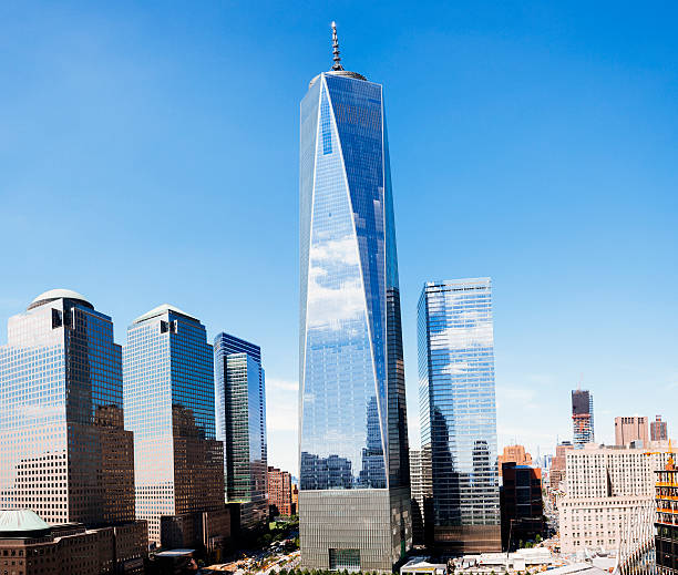 World Trade Center in New York City stock photo