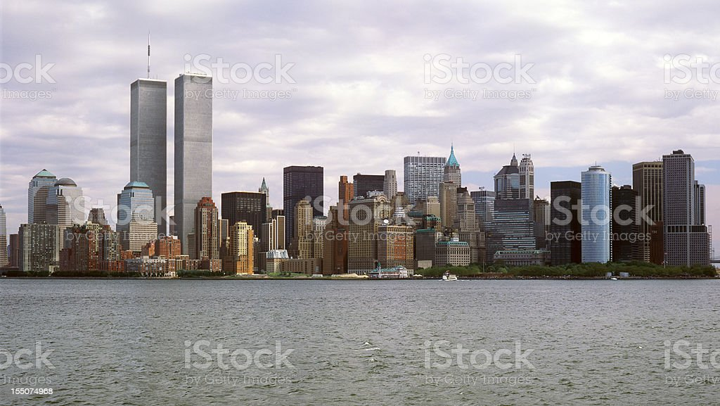 World Trade Center in New York stock photo