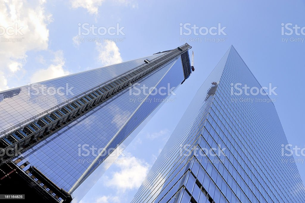 World Trade Center, Manhattan, New York, NY royalty-free stock photo