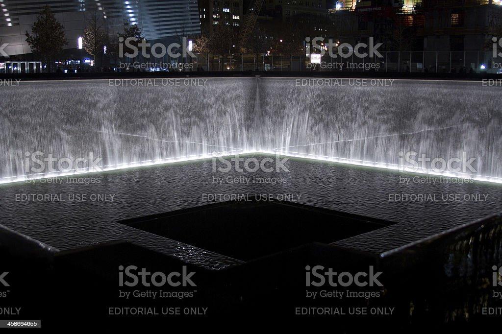 9/11 World Trade Center Memorial stock photo
