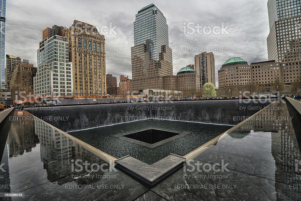 World Trade Center Memorial - Stock Image stock photo