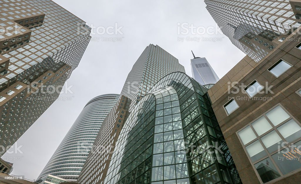 World Trade Center - New York stock photo