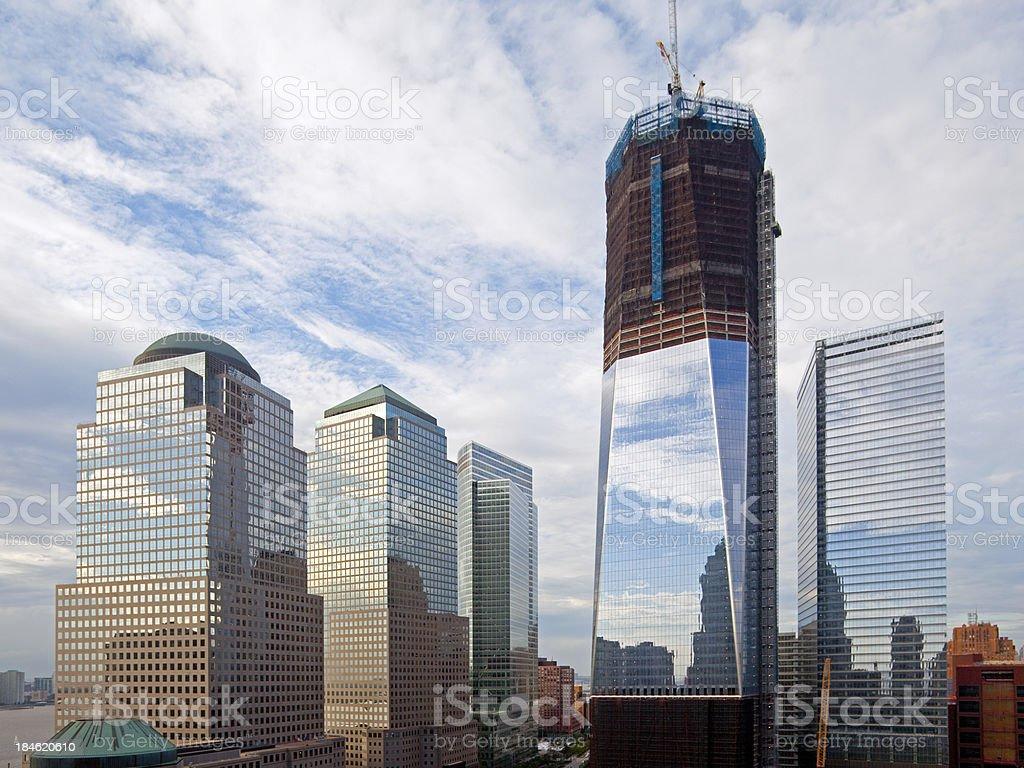 World Trade Center NY royalty-free stock photo