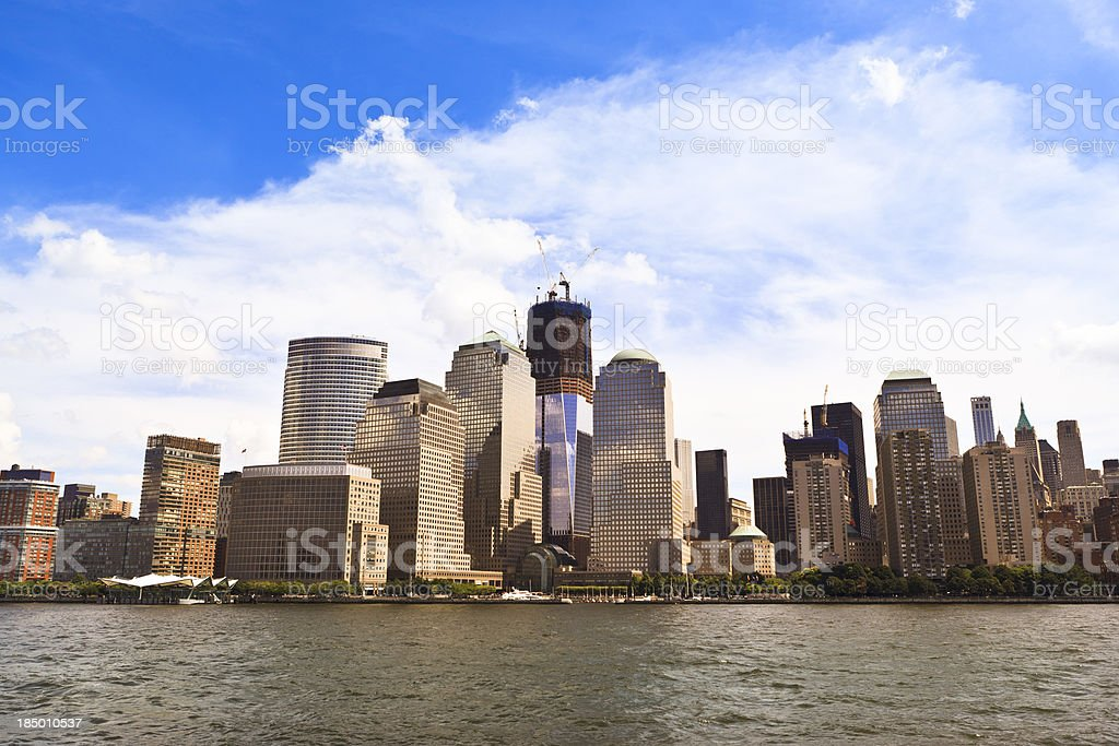 World Trade Center, NYC royalty-free stock photo