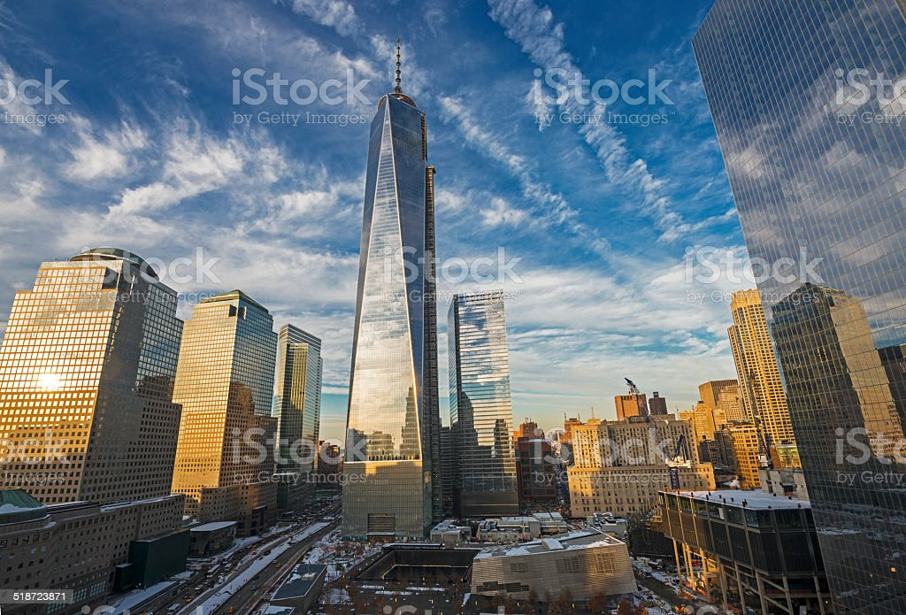 World Trade Center NYC stock photo