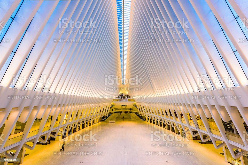 World Trade Center Oculus stock photo