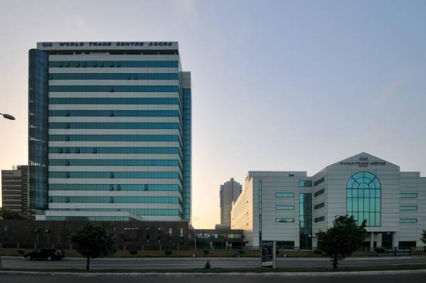 World Trade Center of Accra, Ghana stock photo