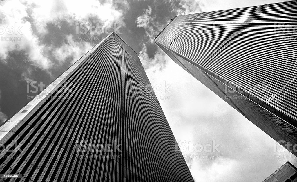 World Trade Centre stock photo