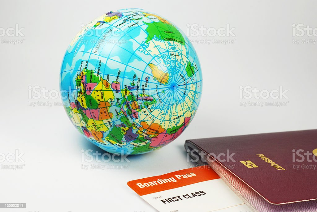 World Travel royalty-free stock photo