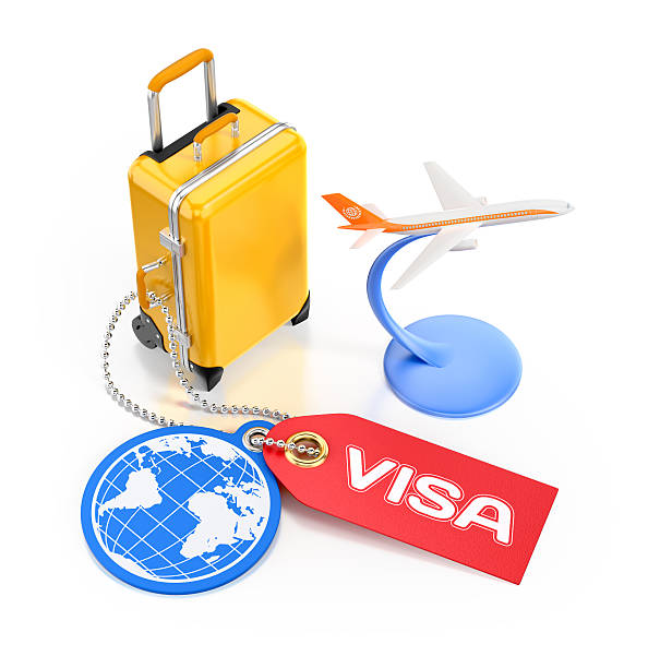 World Travel Visa Concept stock photo