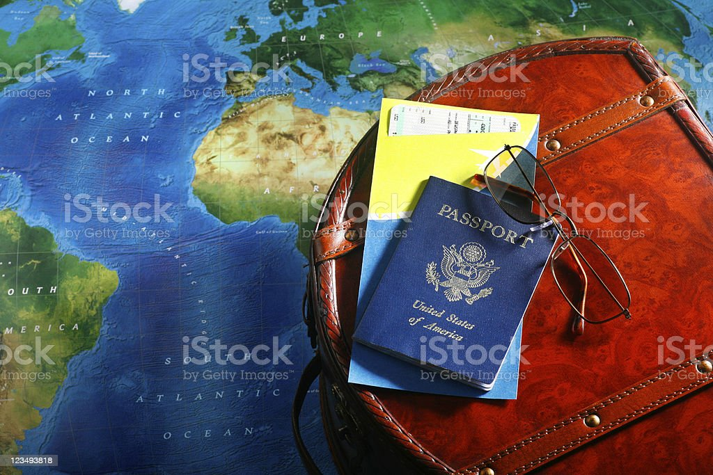 World traveler royalty-free stock photo