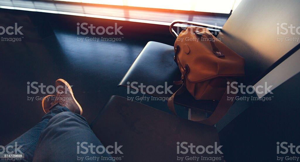World traveller stock photo
