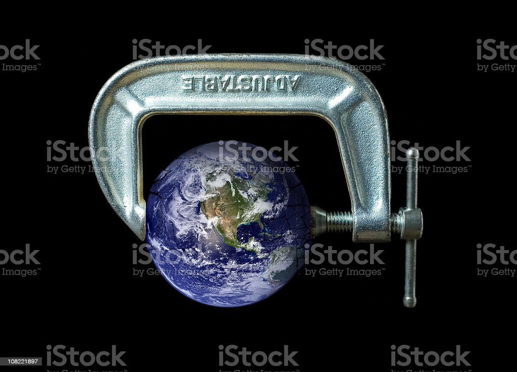World Under Pressure royalty-free stock photo