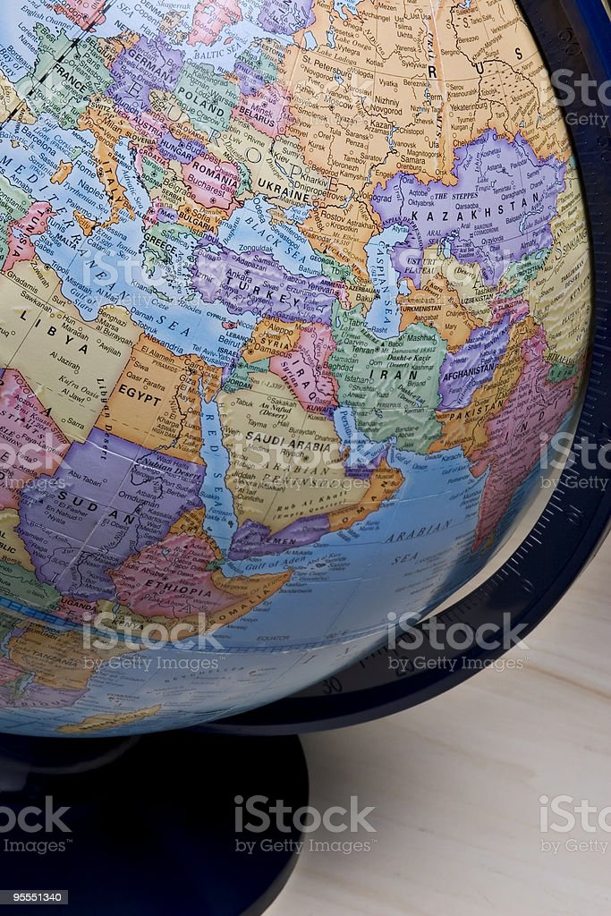 World view stock photo