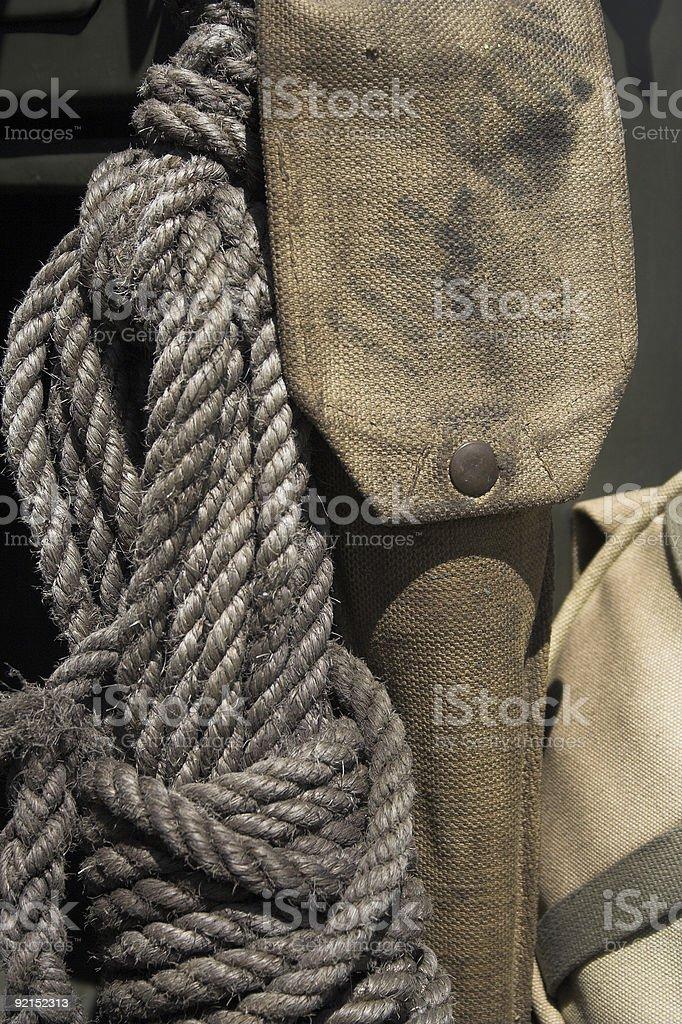 World War 2 equipment royalty-free stock photo