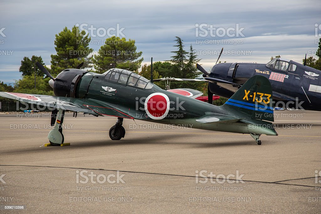 World War 2 Fighters stock photo