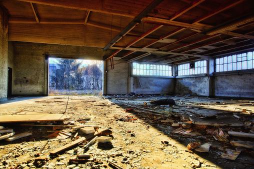 World War 2 Old Military Base