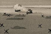 istock World War 2  Tank Firing Weapon on Battle Field 1314098112