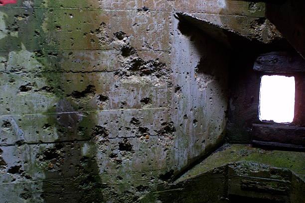 World War II battle damage