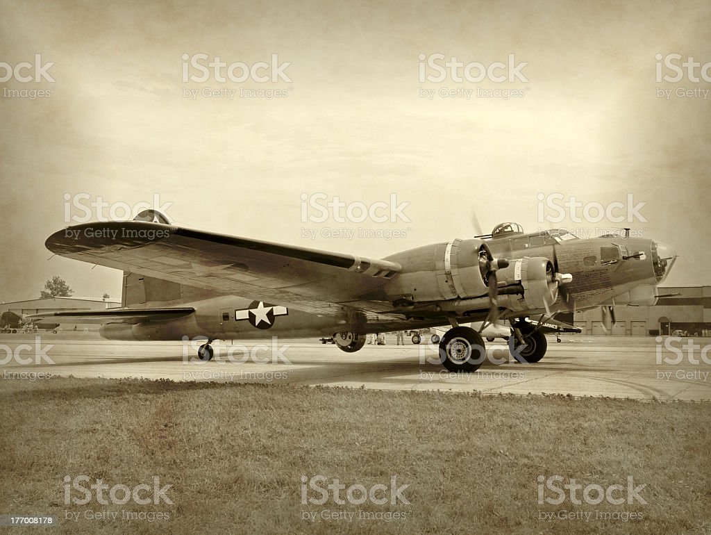Seconda guerra mondiale era bomber - foto stock